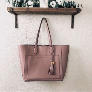 "Cole Haan ""Piper"" Tote in Twilight Mauve"